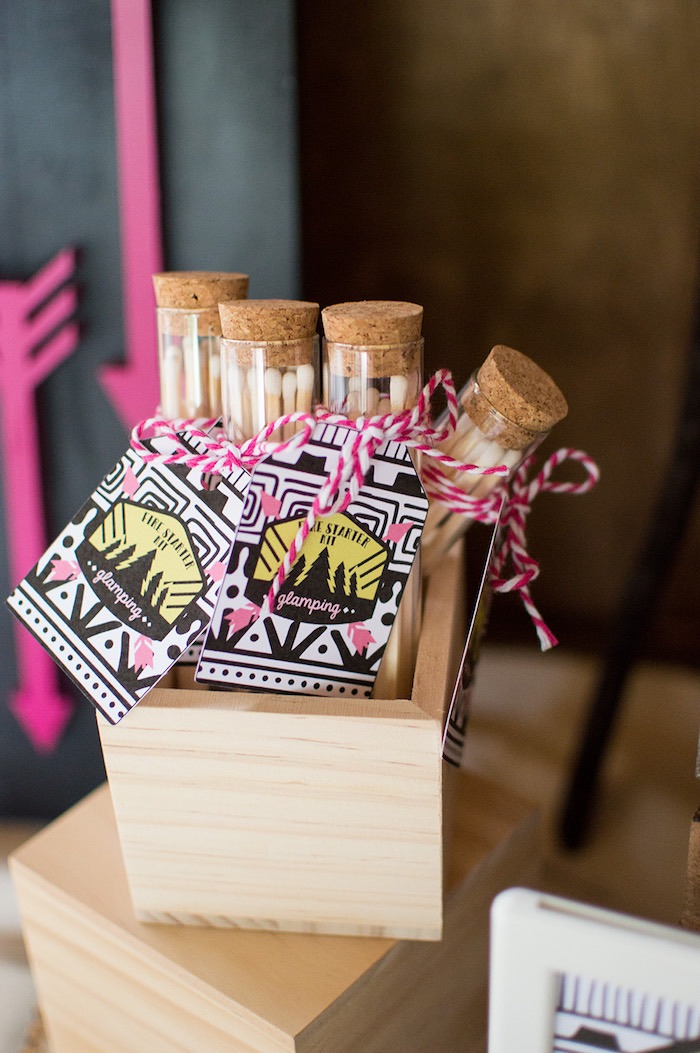 Ladies Night Glamping Party on Kara's Party Ideas | KarasPartyIdeas.com (24)