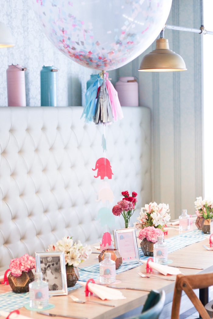 Little Elephant Baptism Celebration on Kara's Party Ideas | KarasPartyIdeas.com (7)