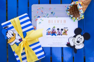 Invitation from a Mickey Mouse & Friends Ice Cream Party on Kara's Party Ideas | KarasPartyIdeas.com (8)