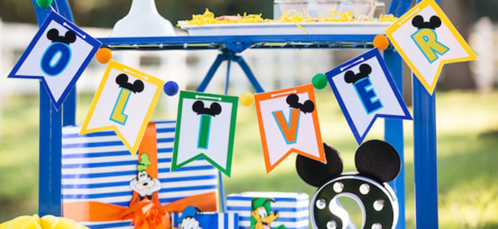 Mickey Mouse & Friends Ice Cream Party on Kara's Party Ideas | KarasPartyIdeas.com (4)