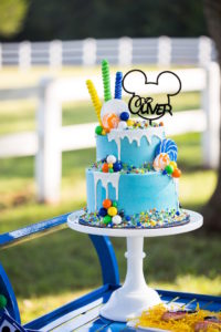 Mickey Mouse drip cake from a Mickey Mouse & Friends Ice Cream Party on Kara's Party Ideas | KarasPartyIdeas.com (25)