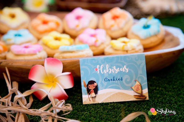 Sweet label from a Moana Inspired Tropical Birthday Party on Kara's Party Ideas | KarasPartyIdeas.com (22)