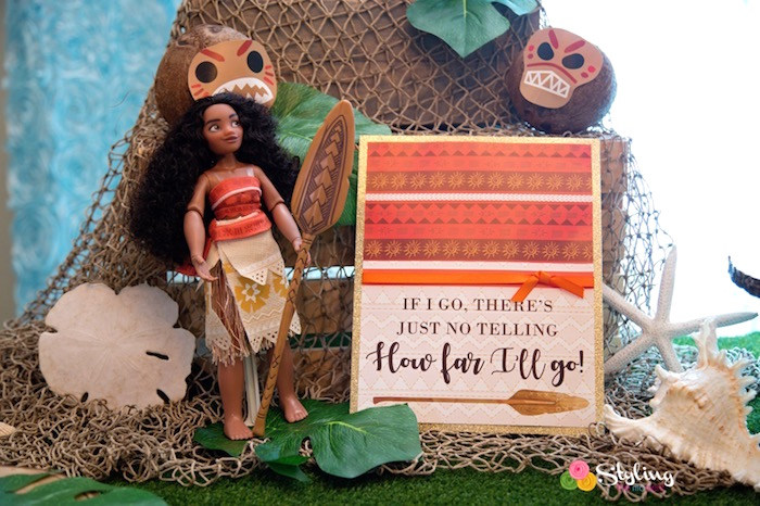 Signage from a Moana Inspired Tropical Birthday Party on Kara's Party Ideas | KarasPartyIdeas.com (9)