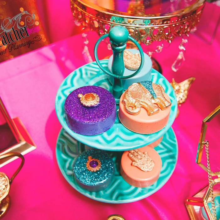 Delightful Chocolate Covered Oreos From A Moroccan Baby Shower On Karau0027s Party Ideas |  KarasPartyIdeas.com