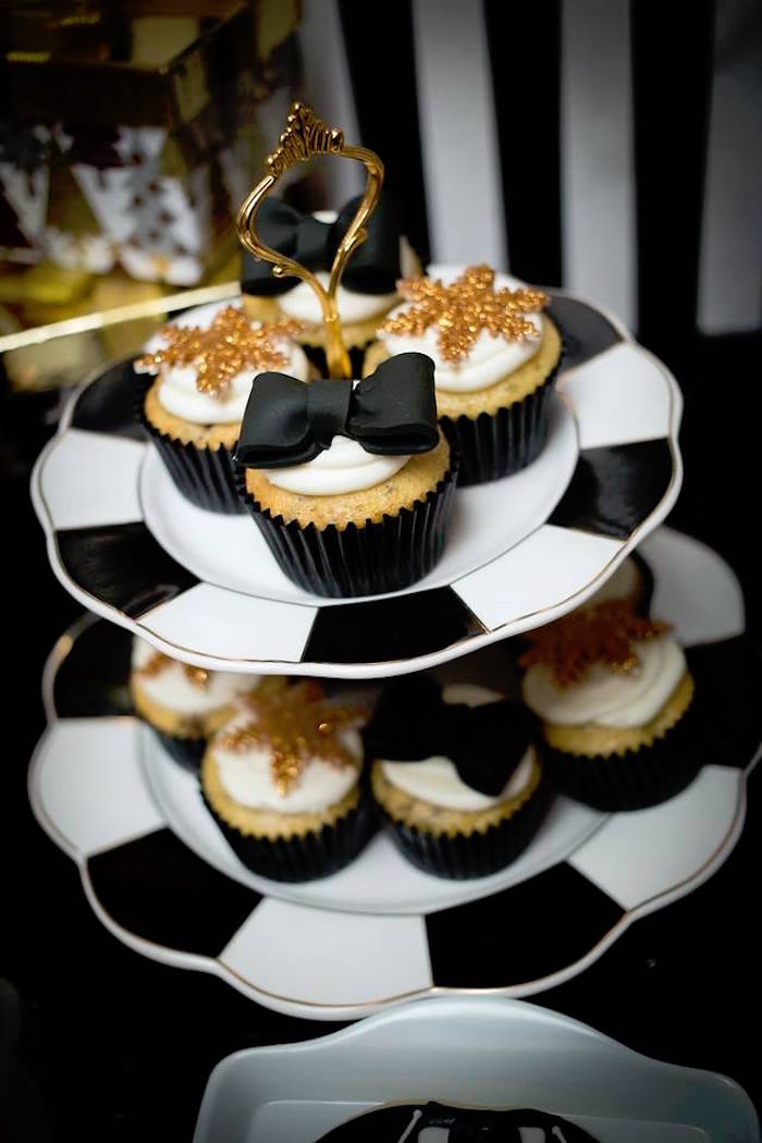 Cupcakes from a Mr. ONE-derful 1st Birthday Party on Kara's Party Ideas | KarasPartyIdeas.com (14)