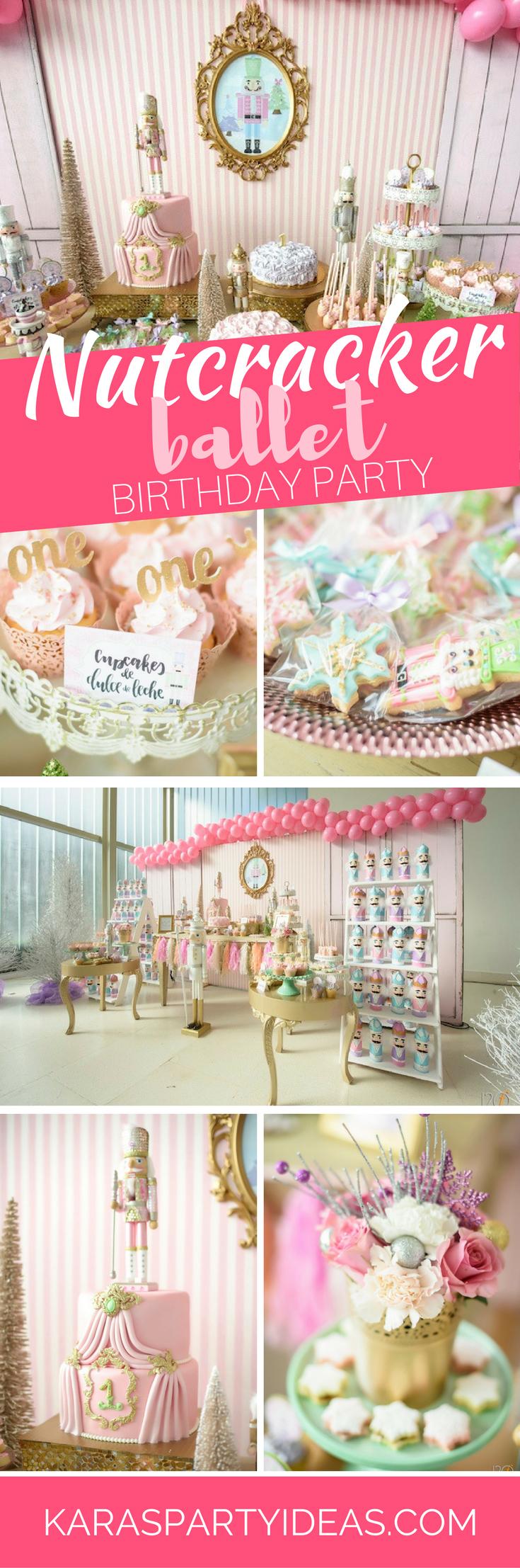 Tea time tea birthday party via kara s party ideas karaspartyideas com - Nutcracker Ballet Birthday Party Via Kara S Party Ideas Karaspartyideas Com