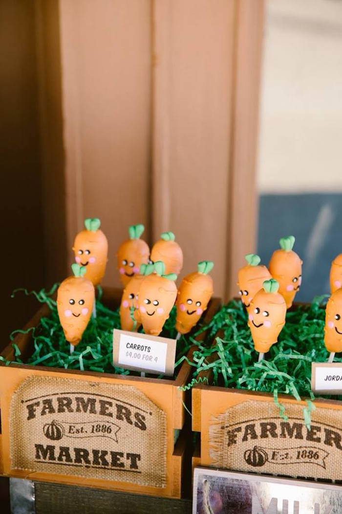 Carrot cake pops from an Old Western Town Birthday Party on Kara's Party Ideas | KarasPartyIdeas.com (19)