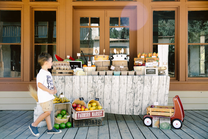 Dessert table from an Old Western Town Birthday Party on Kara's Party Ideas | KarasPartyIdeas.com (6)