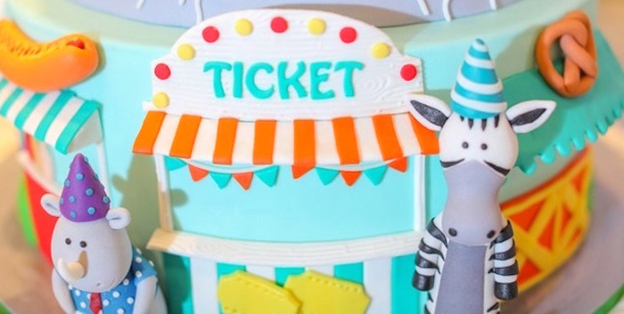 Party Animal + Zoo Themed Birthday Party on Kara's Party Ideas | KarasPartyIdeas.com (2)