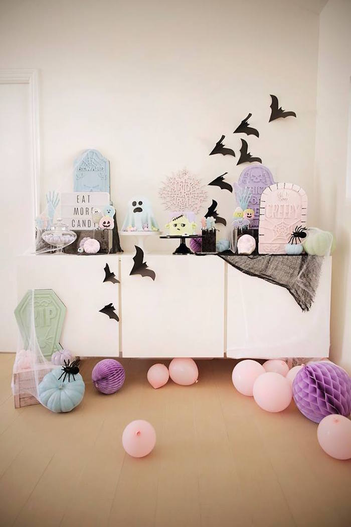 Pastel Halloween Party on Kara's Party Ideas | KarasPartyIdeas.com (10)