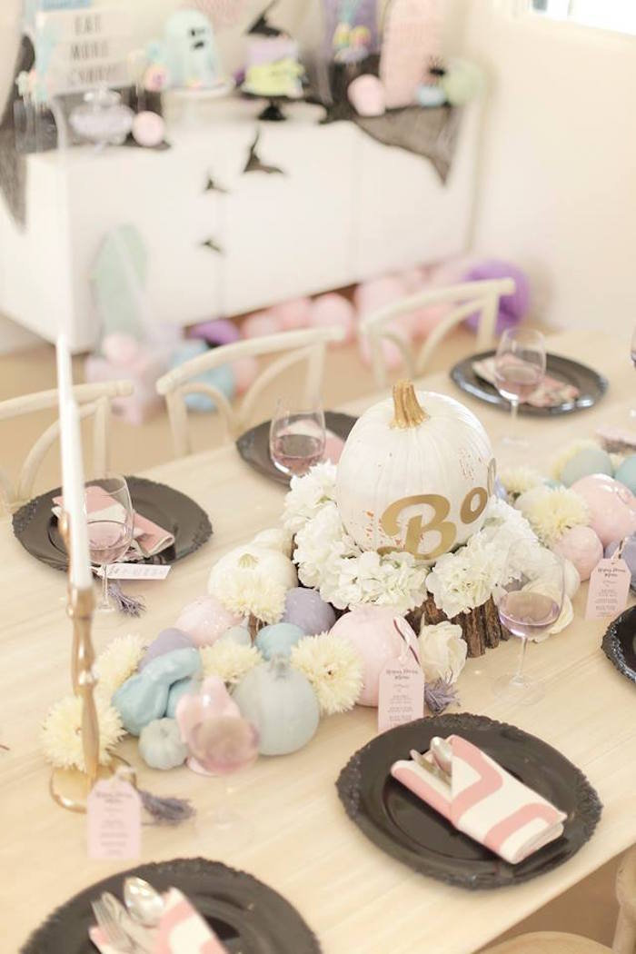 Pastel Halloween Party on Kara's Party Ideas | KarasPartyIdeas.com (7)