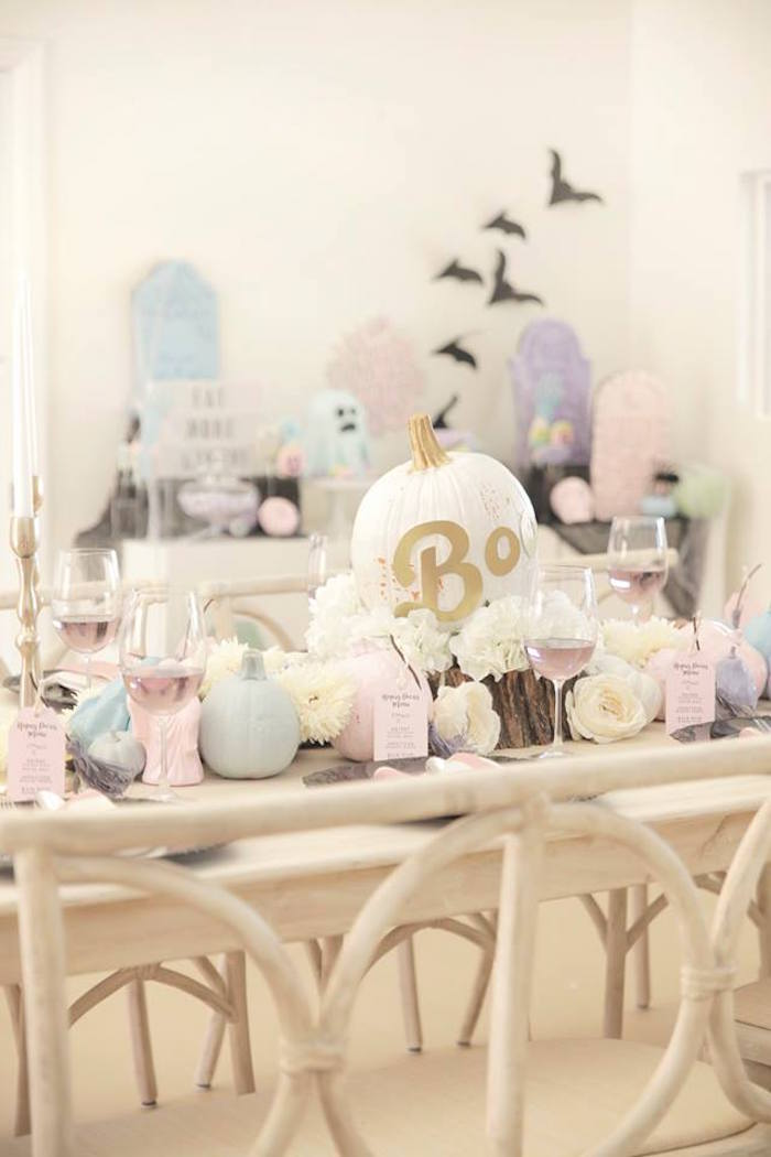 Pastel Halloween Party on Kara's Party Ideas | KarasPartyIdeas.com (6)