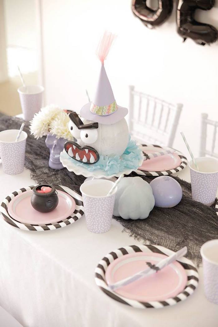 Pastel Halloween Party on Kara's Party Ideas | KarasPartyIdeas.com (24)