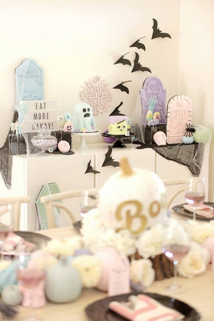 Pastel Halloween Party on Kara's Party Ideas | KarasPartyIdeas.com (22)