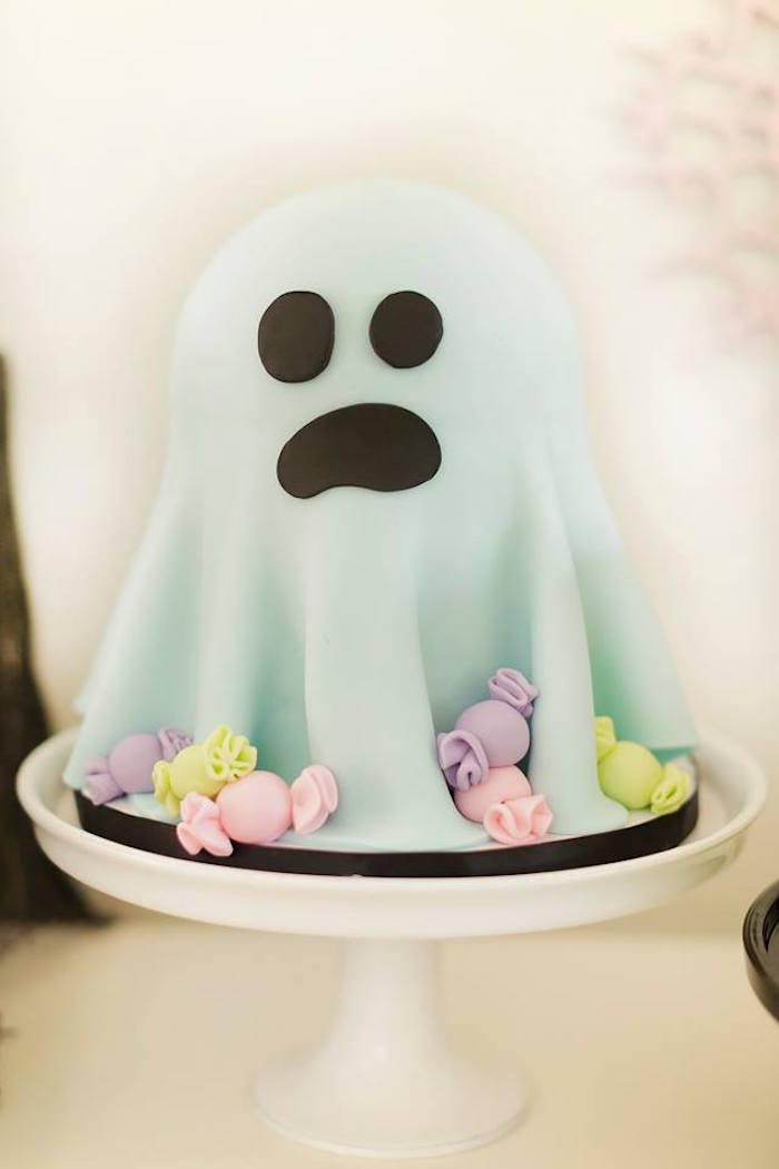 Pastel Halloween Party on Kara's Party Ideas | KarasPartyIdeas.com (21)