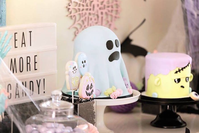 Pastel Halloween Party on Kara's Party Ideas | KarasPartyIdeas.com (18)