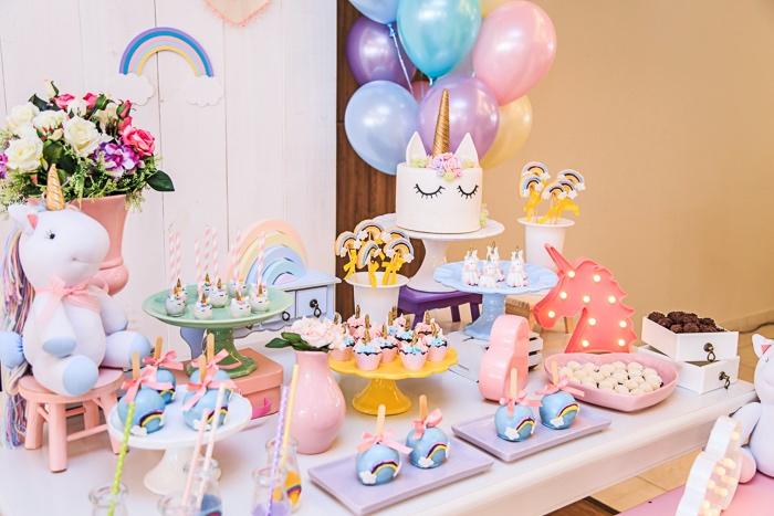 Karas Party Ideas Pastel Unicorn Birthday Party