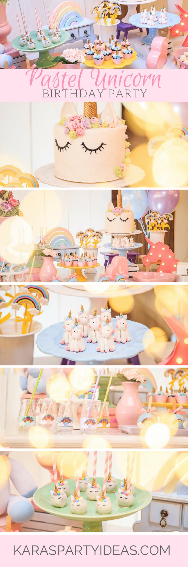 Tea time tea birthday party via kara s party ideas karaspartyideas com - Pastel Unicorn Birthday Party Via Kara S Party Ideas Karaspartyideas Com
