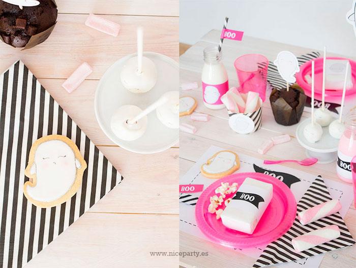 "Pink & Black ""Boo!"" Halloween Party on Kara's Party Ideas | KarasPartyIdeas.com (8)"