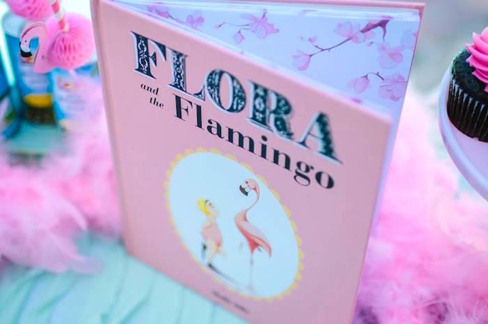 Flora Flamingo Book from a Pink Flora Flamingo Birthday Party on Kara's Party Ideas | KarasPartyIdeas.com (18)