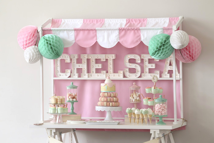 Pretty Pastel Ice Cream Party on Kara's Party Ideas | KarasPartyIdeas.com (7)