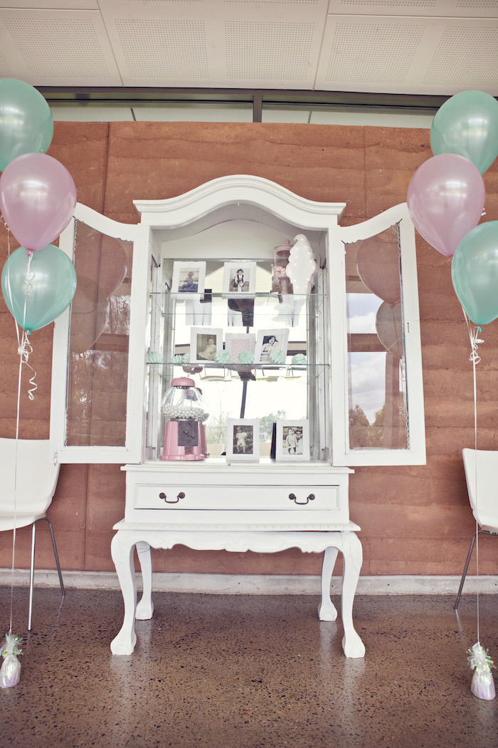 Cabinet of photos from a Pretty Pastel Ice Cream Party on Kara's Party Ideas | KarasPartyIdeas.com (13)
