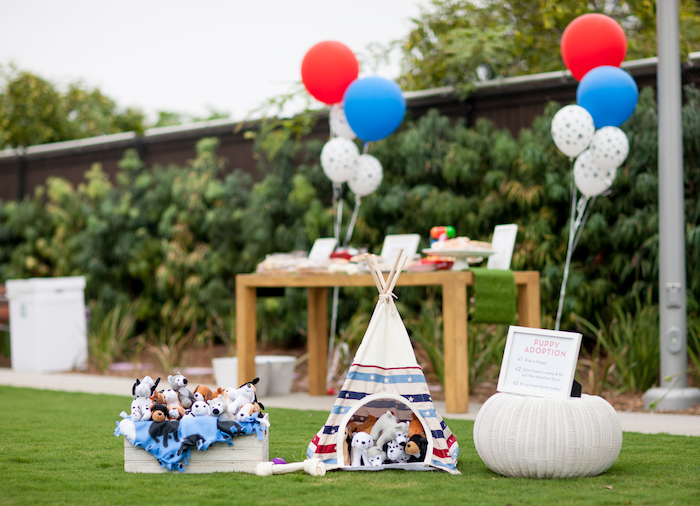 Puppy Adoption from a Puppy PAW-ty on Kara's Party Ideas | KarasPartyIdeas.com (17)