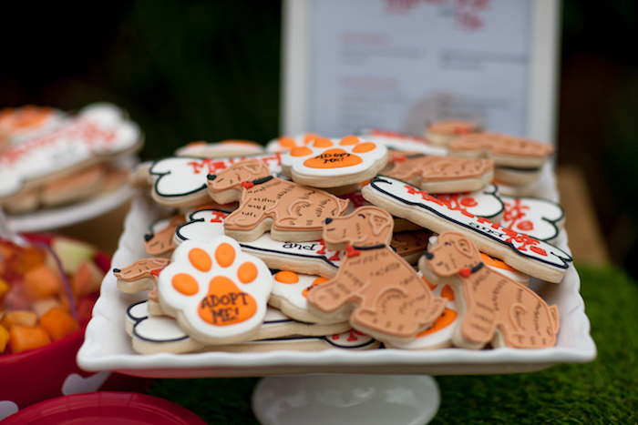 Cookies from a Puppy PAW-ty on Kara's Party Ideas | KarasPartyIdeas.com (15)