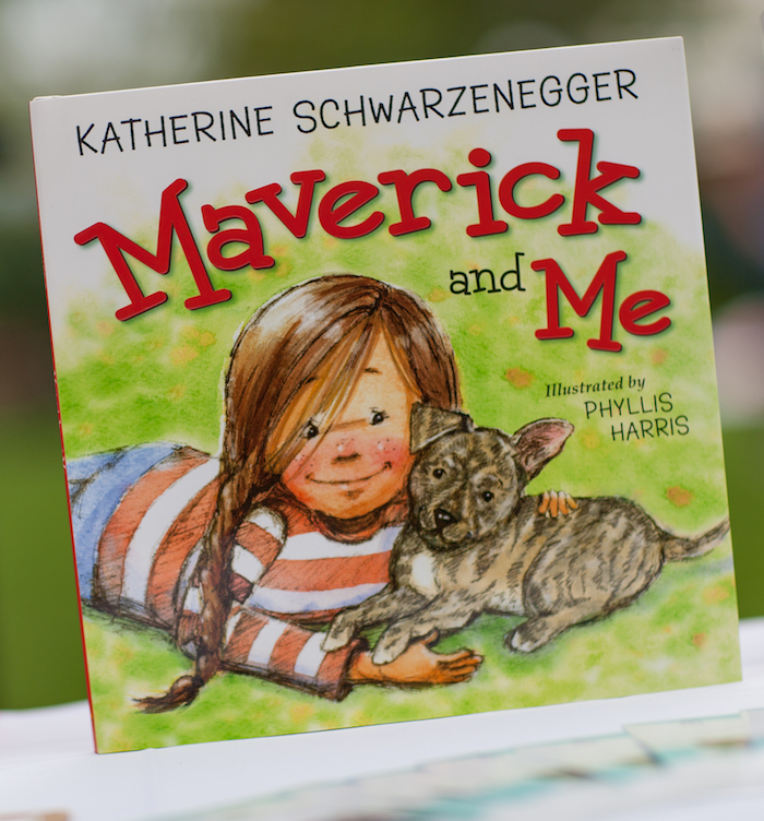 Maverick and Me book from a Puppy PAW-ty on Kara's Party Ideas | KarasPartyIdeas.com (12)