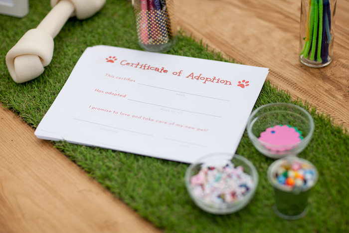 Certificate of Adoption from a Puppy PAW-ty on Kara's Party Ideas | KarasPartyIdeas.com (22)