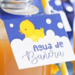 Rubber Ducky Birthday Party on Kara's Party Ideas | KarasPartyIdeas.com (1)