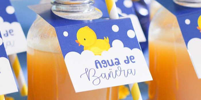 Rubber Ducky Birthday Party on Kara's Party Ideas | KarasPartyIdeas.com (1)