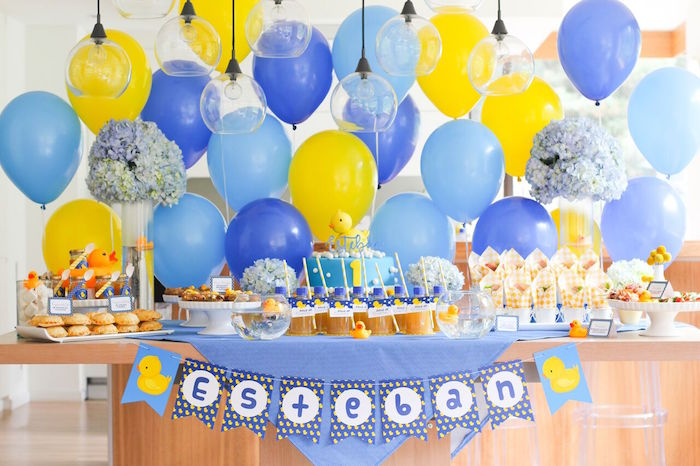 Rubber Ducky Birthday Party on Kara's Party Ideas | KarasPartyIdeas.com (17)