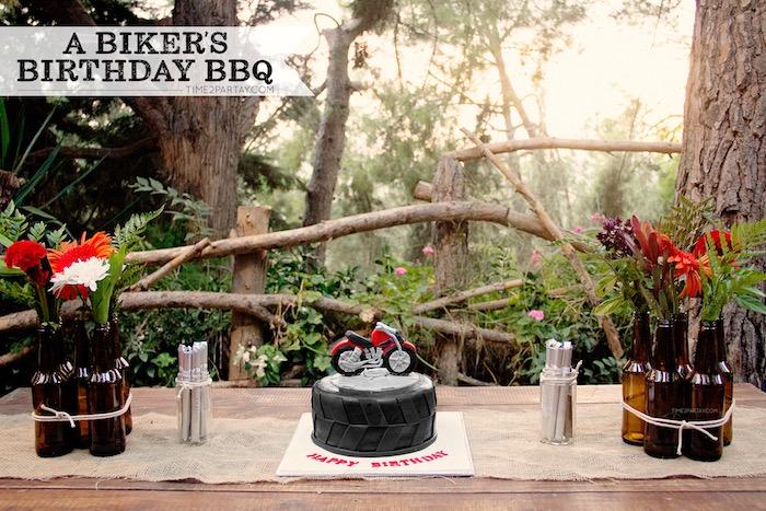 Rustic Biker BBQ Birthday Party on Kara's Party Ideas | KarasPartyIdeas.com (20)
