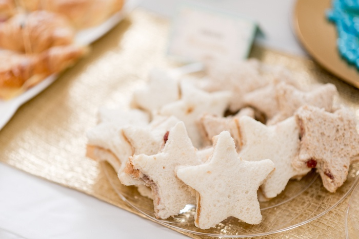 Starfish sandwiches from a Sharks vs. Mermaids Under the Sea Party on Kara's Party Ideas | KarasPartyIdeas.com (11)