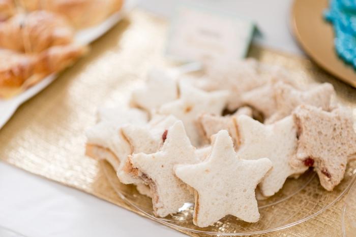 Starfish sandwiches from a Sharks vs. Mermaids Under the Sea Party on Kara's Party Ideas   KarasPartyIdeas.com (11)