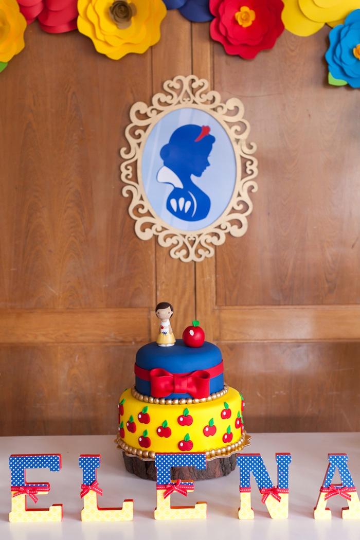 Snow White Birthday Party on Kara's Party Ideas | KarasPartyIdeas.com (9)