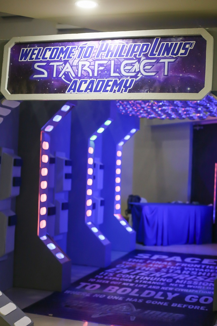 Kara S Party Ideas Star Trek Inspired Space Party Kara S
