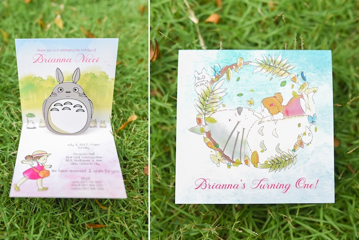 Totoro Party Invite from a Totoro's Forest Birthday Party on Kara's Party Ideas | KarasPartyIdeas.com (12)