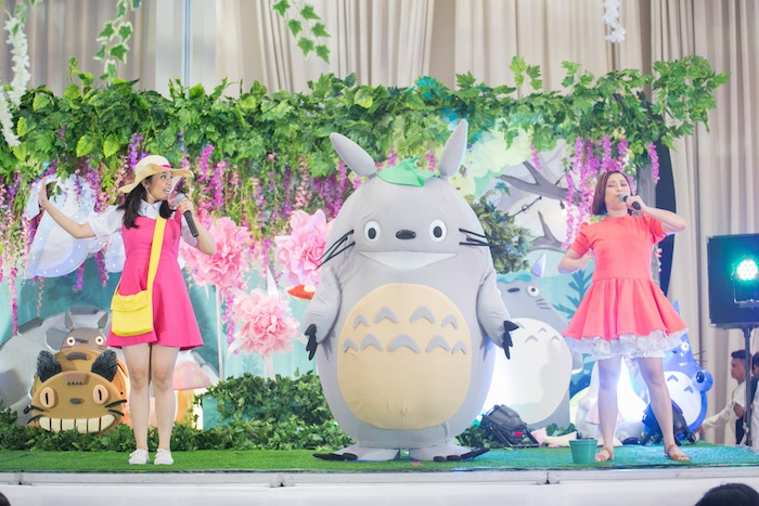 Totoro's Forest Birthday Party on Kara's Party Ideas   KarasPartyIdeas.com (5)