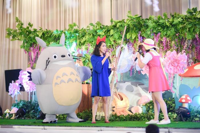 Totoro's Forest Birthday Party on Kara's Party Ideas   KarasPartyIdeas.com (4)