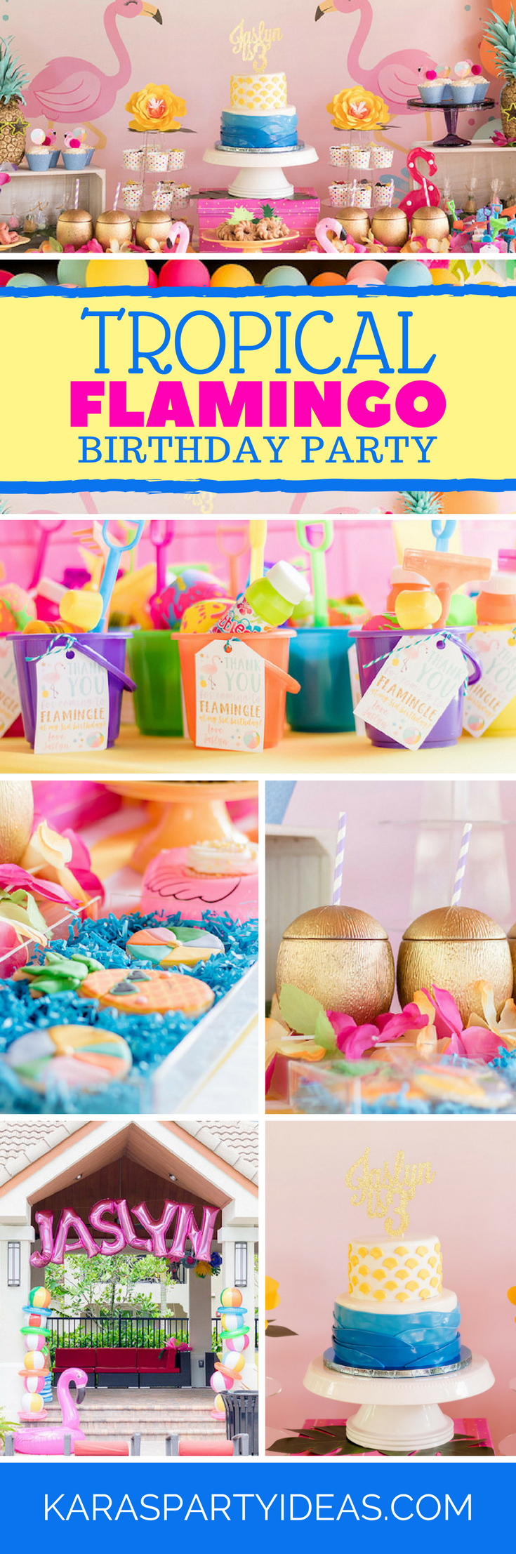 Tea time tea birthday party via kara s party ideas karaspartyideas com - Tropical Flamingo Birthday Party Via Kara S Party Ideas Karaspartyideas Com