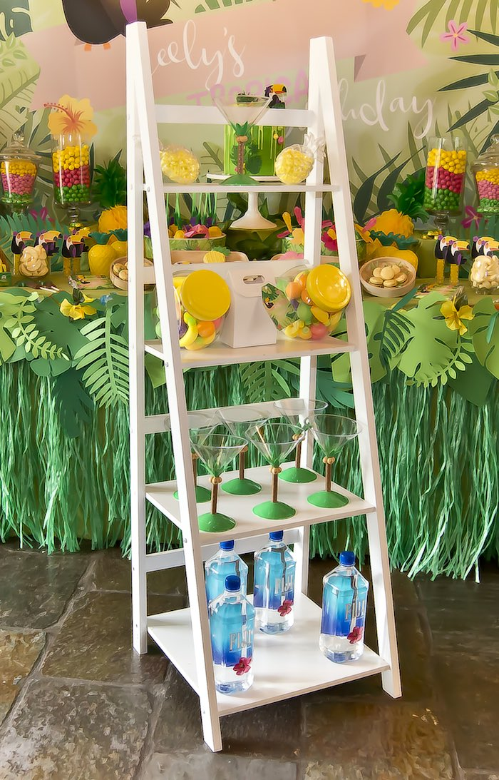 Details from a Tropical Toucan Birthday Party on Kara's Party Ideas | KarasPartyIdeas.com (10)