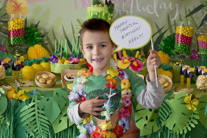 Tropical Toucan Birthday Party on Kara's Party Ideas | KarasPartyIdeas.com (8)
