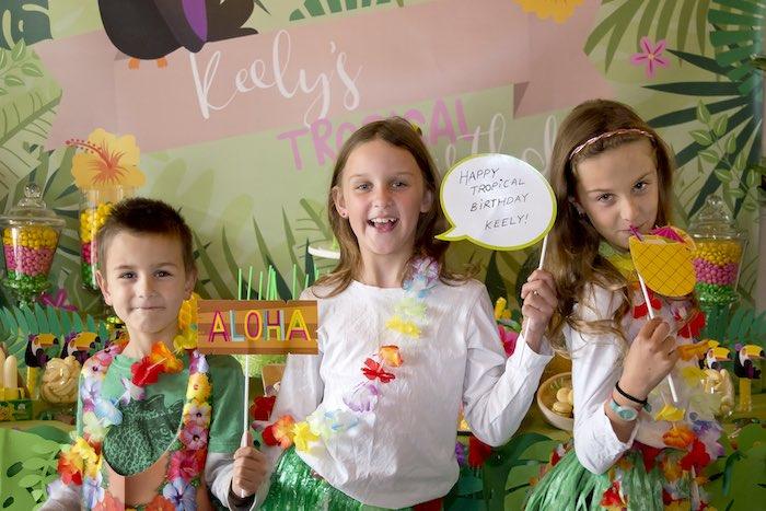 Tropical Toucan Birthday Party on Kara's Party Ideas | KarasPartyIdeas.com (7)