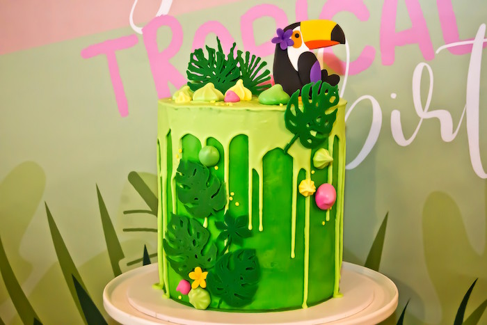 Kara S Party Ideas Tropical Toucan Birthday Party Kara S