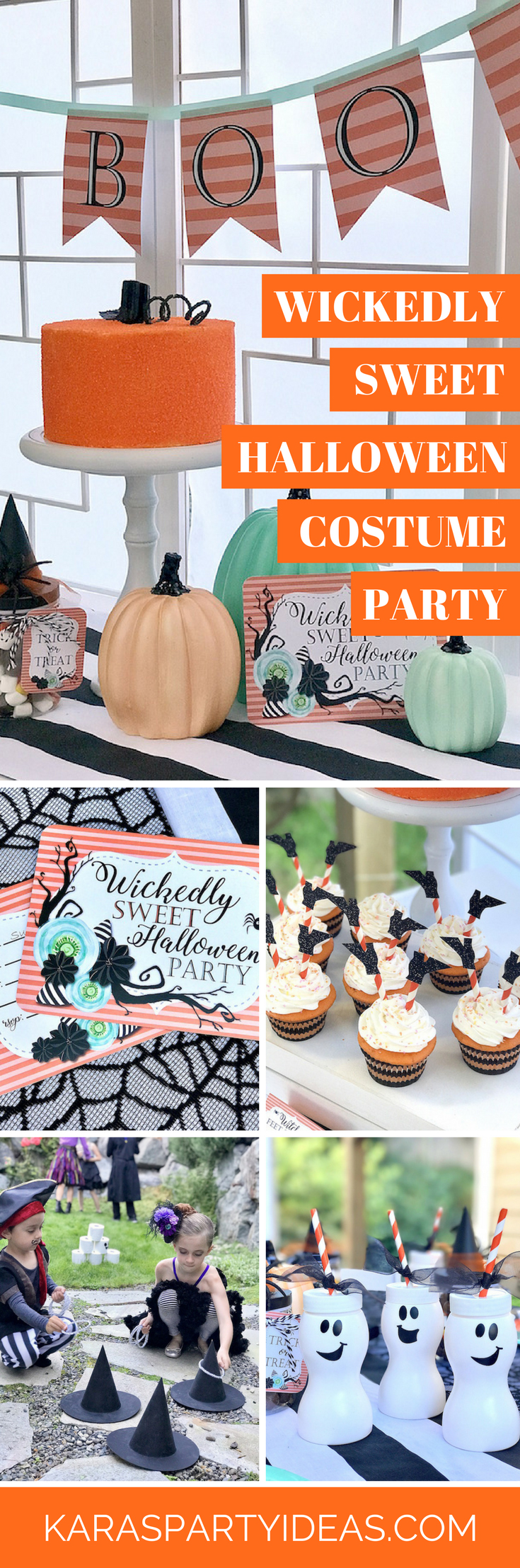Wickedly Sweet Halloween Costume Party via Kara's Party Ideas - KarasPartyIdeas.com