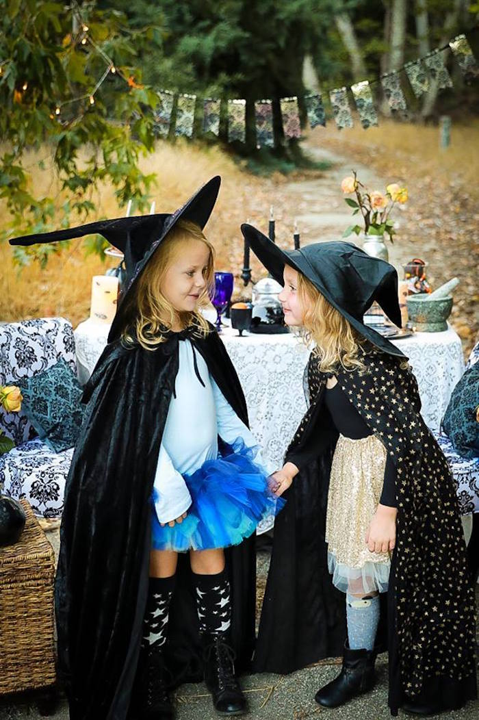Witches from a Witches' Brew Halloween Tea Party on Kara's Party Ideas | KarasPartyIdeas.com (14)