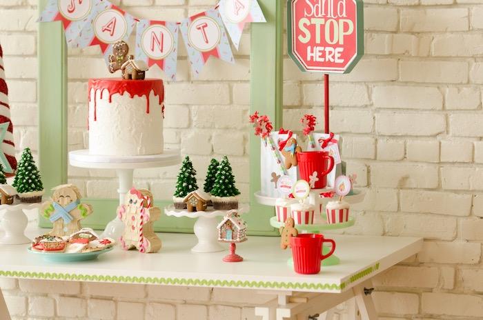 """Cookies for Santa"" Christmas Party on Kara's Party Ideas | KarasPartyIdeas.com (32)"