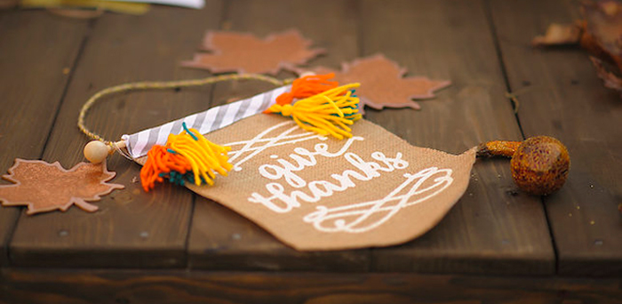 """Friendsgiving"" Thanksgiving Playdate Party on Kara's Party Ideas 